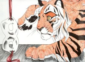 Cassidy the Tiger by AraRouge