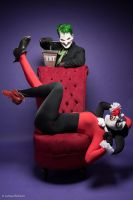 Joker and Harley Quinn - Tick Tock by Enasni-V