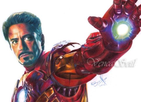 Iron Man by VencaSeitl