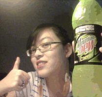 HIGH ON MOUNTAIN DEW by FDbil