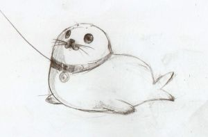 My pet Seal by maocha