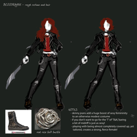 BloodRayne Betrayal CONCEPTS 4 by jezzy