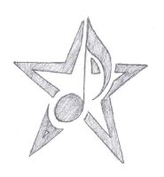 Music Note Star Tattoo by Dumaii