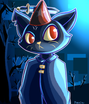 Mae from Night in the Woods by KingOfFatCats