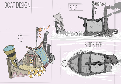 Boat Concept Redesign by TheGrimMeanie