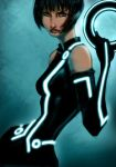 Quorra from Tron by pungang