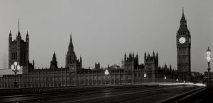 Westminster Hall at Dawn by Flyboy627