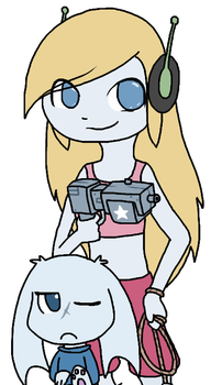 Cave Story :: Curly 'n Sue by CubieJ