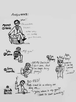 Even more doodles #2 by QuirinusQuirrell