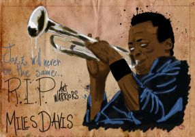 Miles Davis by artwarriors