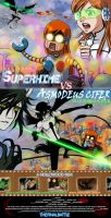 SUPERHIME VS ASMODEUS CIFER by BillieFeng