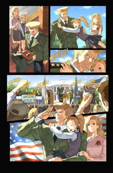 Fighting Evolution- GUILE by UdonCrew
