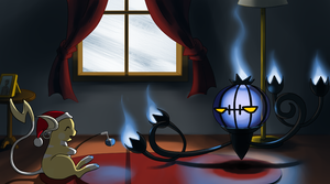 PtC - Roasting Berries by an Offered Fire by ShadowScarKnight