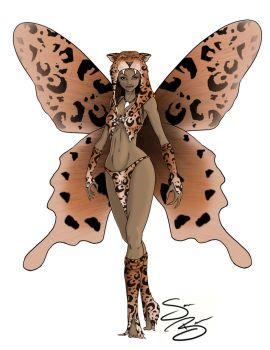 Leopard Fairy by SamanthaBranch
