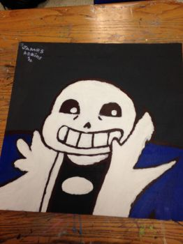 Ceiling tile I made for school by N0TATACO