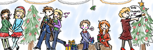 It's a multishipper Christmas by georgiatheninja