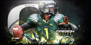 Oregon Ducks by bobbydigital72