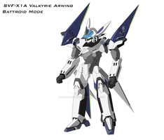 Arwing VF Battroid Color by MasterChiefFox