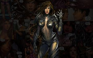 Witchblade.Sara by Troilus
