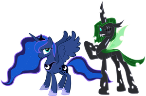 Name Your Price Pony: Luna and Sting by Astanine