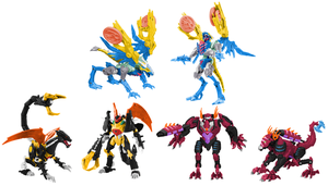Predacon Trio Digibash by Air-Hammer