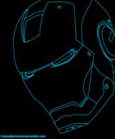 Iron Man Outline by impossiblynormal