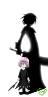 .: Crona needs love too... :. by PinselTheExperiment