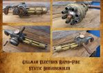 Static Powered Gatling by HerbertW