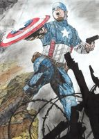 Captain America by Phoenix74n