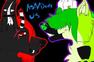 Ask/Dare Us! by Toxic-Waste-Mutt