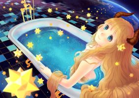 Stellar Bath by Rosuuri