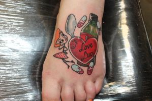 I Love Lucy Tattoo by MicahSouza
