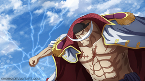 Whitebeard power - One piece by k9k992