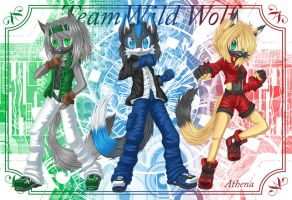 Portrait of Team Wild Wolf by Athena-Tivnan