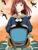 Riding a God +flcl+ by Sancy