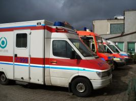 Black Clouds Call Ambulance by Abrimaal