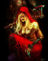 Woolfe Red Riding Hood by DMarsela