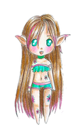 New Chibi Style Test by TaitRochelle