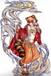 Red Panda girl by mitsuki-neechan