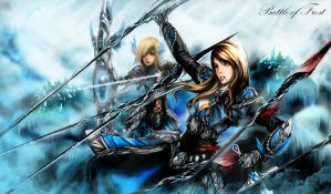 Wallpaper - BattleofFrost by shizen1102