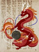 Hangul Dragon by jamieglasgow