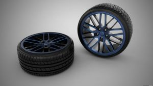 wheels design 2 by 3DEricDesign