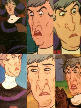 The many faces of  Frollo - Frollo Meets His Match by ljaylue