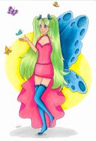 butterfly super power by TaliShemes