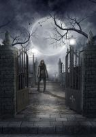 The man of the cemetary by Azylis