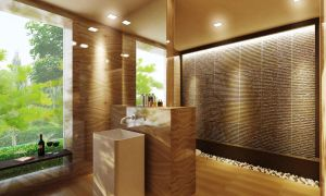Powder Room by vkendesign