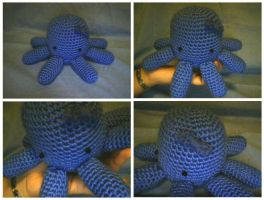 Crochet Little Octopus by katrivsor