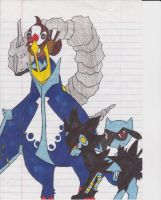 Pokemon colored by EDSW-Group