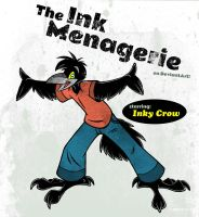 Inky Crow ID 2 by theInkMenagerie