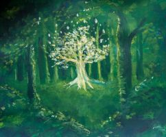 Tree of Light by Charmed-Ravenclaw